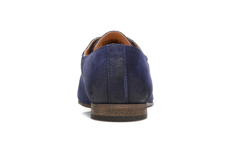 Chaussures à lacets Kickers Galla Bleu vue droite