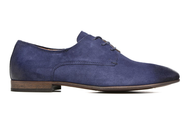 Chaussures à lacets Kickers Galla Bleu vue derrière