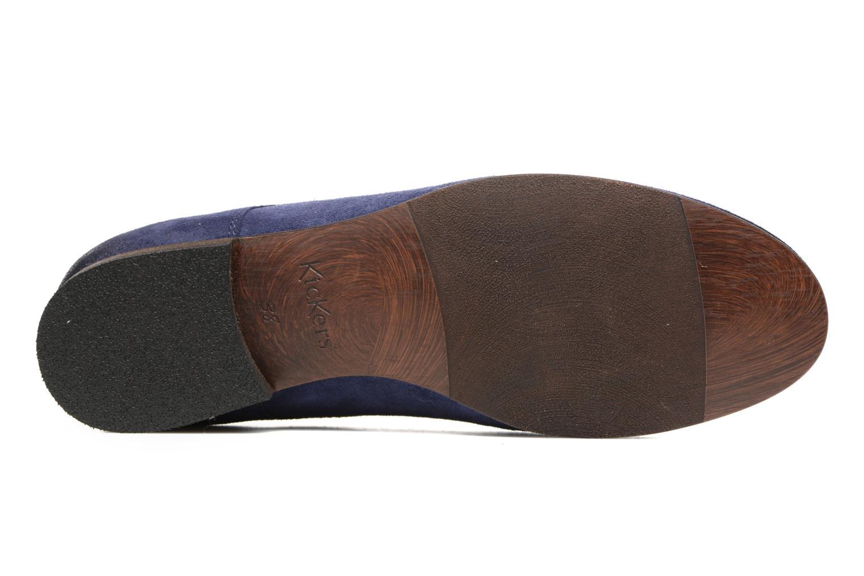Chaussures à lacets Kickers Galla Bleu vue haut