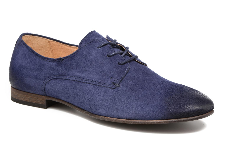 Chaussures à lacets Kickers Galla Bleu vue détail/paire