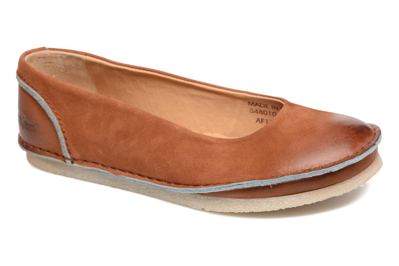 Ballerinaer Kickers Mybalerina Brun detaljeret billede af skoene