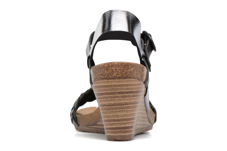 Sandales et nu-pieds Kickers Splendid Gris vue droite