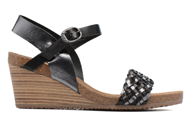 Sandales et nu-pieds Kickers Splendid Gris vue derrière