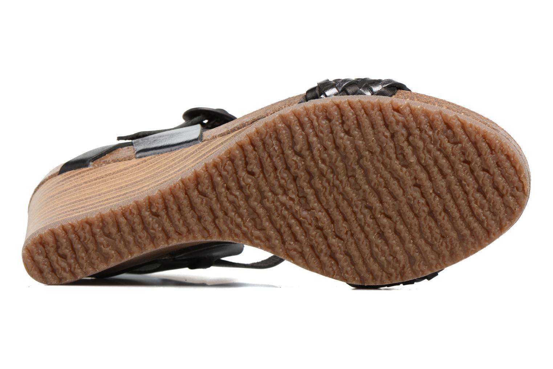 Sandales et nu-pieds Kickers Splendid Gris vue haut