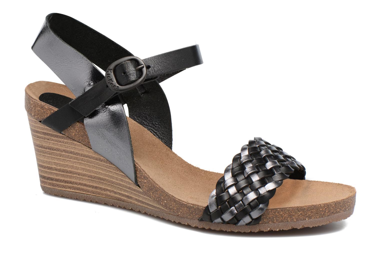 Sandales et nu-pieds Kickers Splendid Gris vue détail/paire