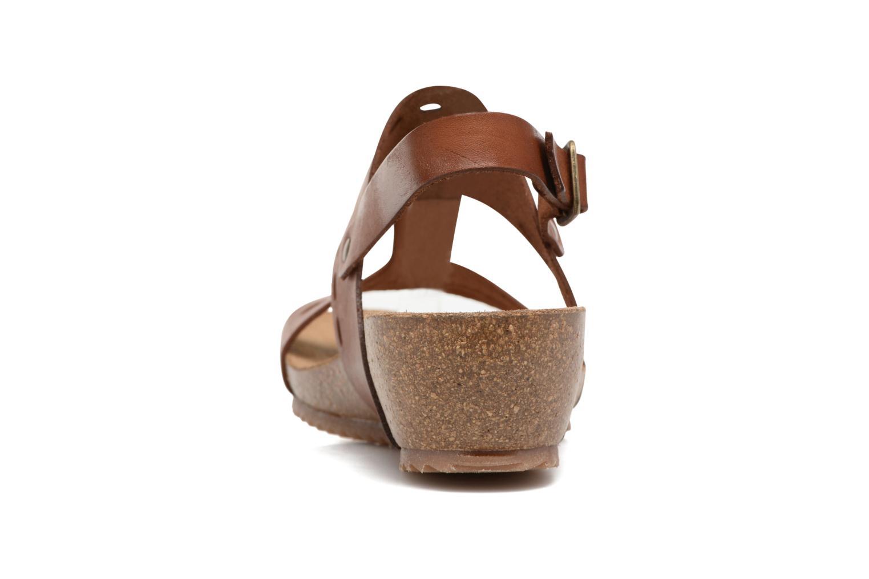 Sandales et nu-pieds Kickers Tokali Marron vue droite