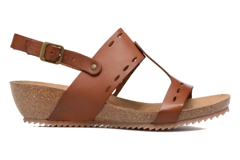 Sandales et nu-pieds Kickers Tokali Marron vue derrière
