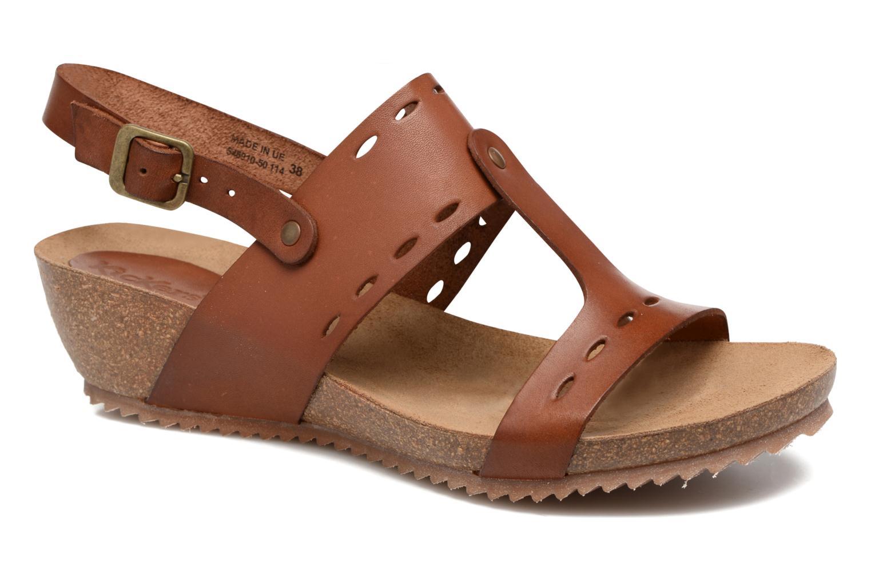 Sandales et nu-pieds Kickers Tokali Marron vue détail/paire
