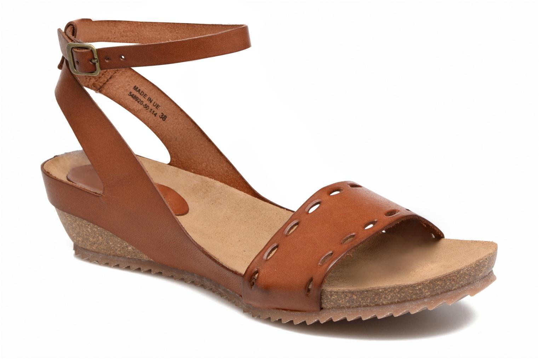 Sandales et nu-pieds Kickers Tokrom Marron vue détail/paire