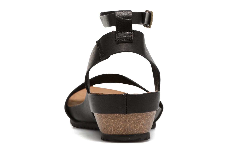 Sandales et nu-pieds Kickers Tokrom Noir vue droite