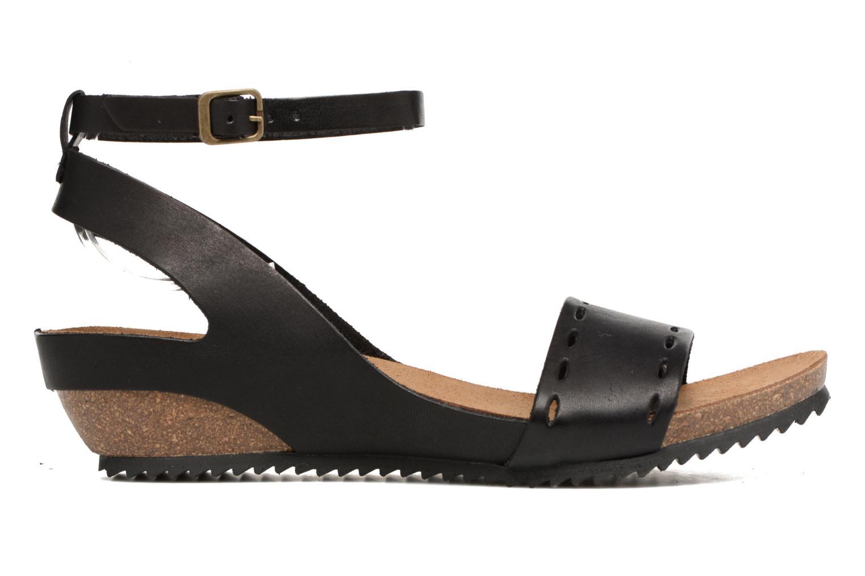 Sandales et nu-pieds Kickers Tokrom Noir vue derrière