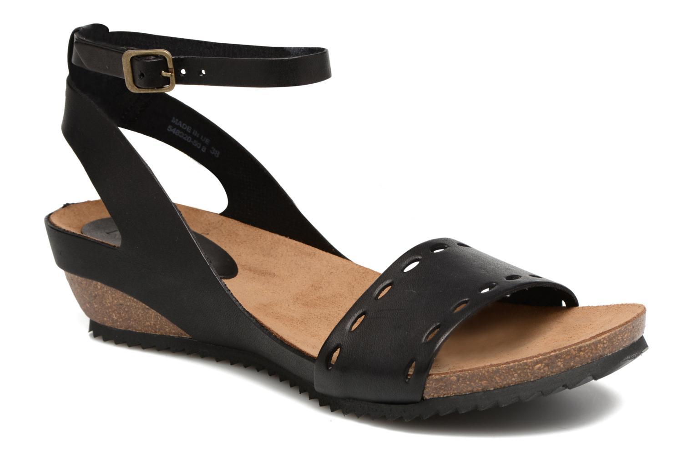 Sandales et nu-pieds Kickers Tokrom Noir vue détail/paire