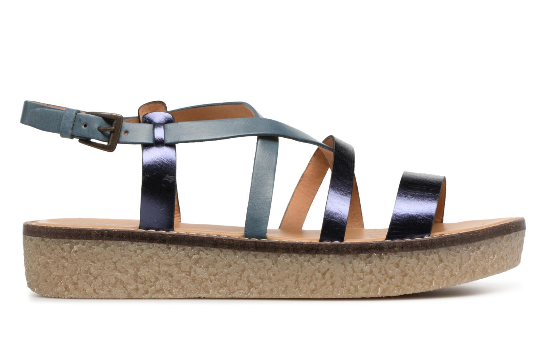 Sandali e scarpe aperte Kickers Valentina Azzurro immagine posteriore