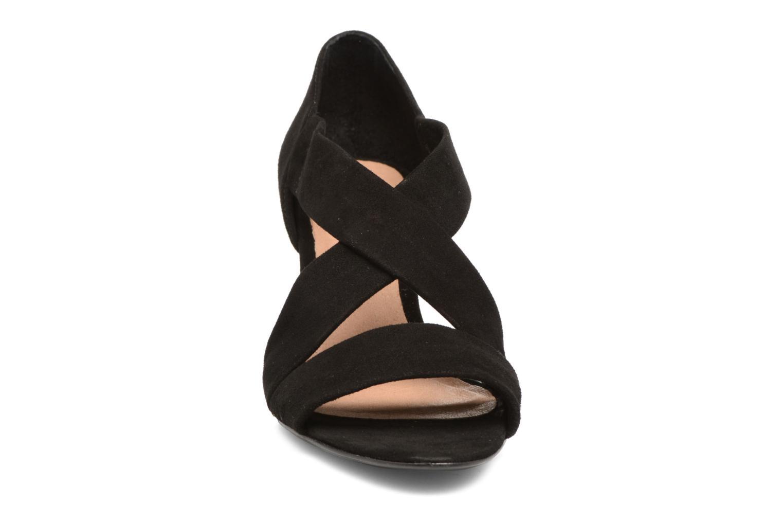 Sandales et nu-pieds COSMOPARIS Vika/Vel Noir vue portées chaussures