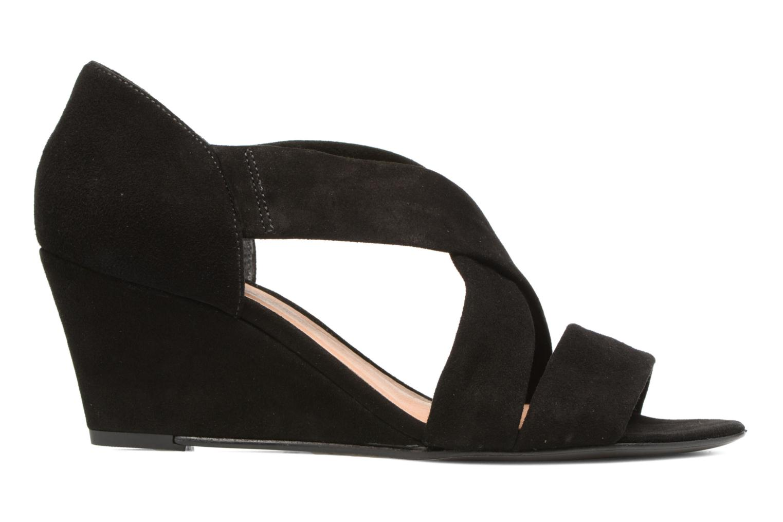 Sandales et nu-pieds COSMOPARIS Vika/Vel Noir vue derrière