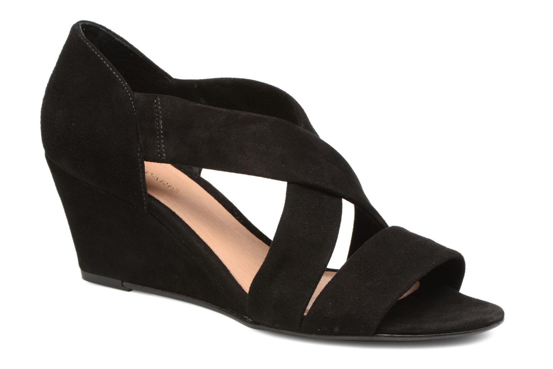 Sandales et nu-pieds COSMOPARIS Vika/Vel Noir vue détail/paire