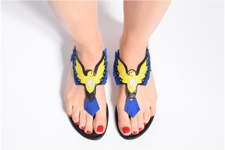 Sandali e scarpe aperte COSMOPARIS Jing Nero immagine dal basso