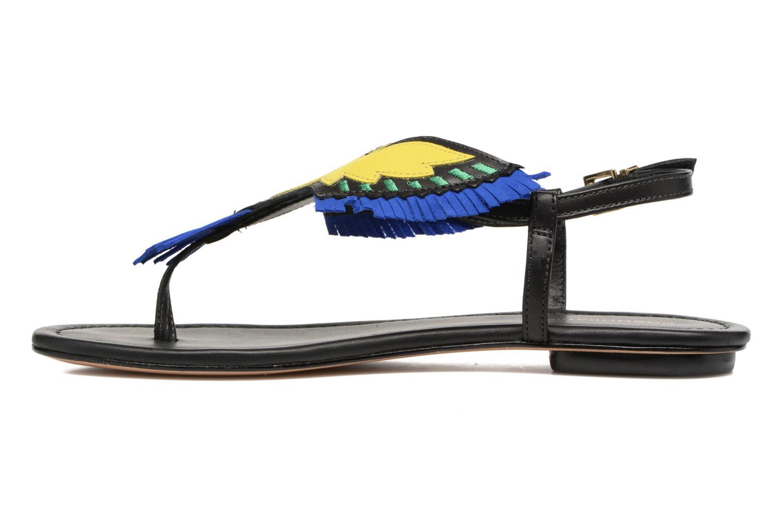 Sandalen COSMOPARIS Jing schwarz ansicht von vorne