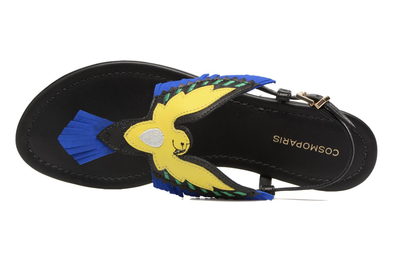 Sandali e scarpe aperte COSMOPARIS Jing Nero immagine sinistra