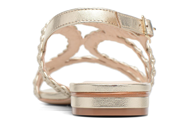 Sandalen COSMOPARIS Lolia/Met gold/bronze ansicht von rechts