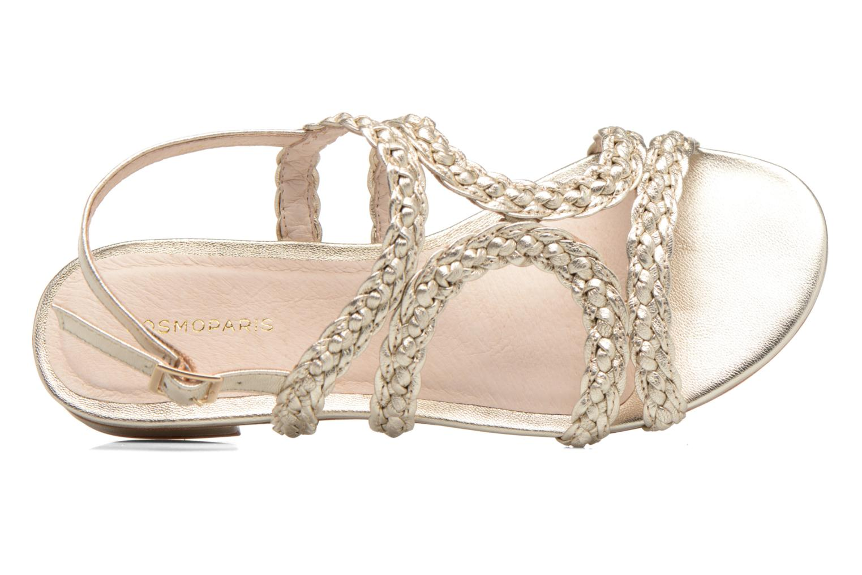 Sandali e scarpe aperte COSMOPARIS Lolia/Met Oro e bronzo immagine sinistra
