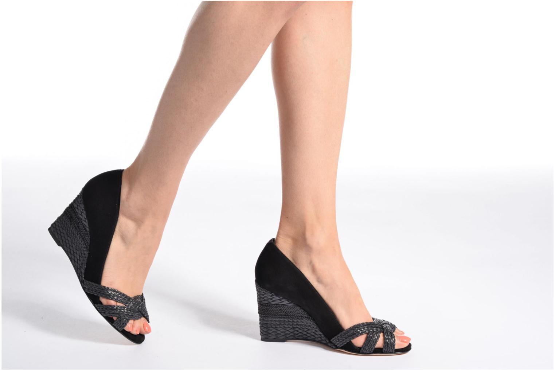 Zapatos de tacón COSMOPARIS Avimi Negro vista de abajo