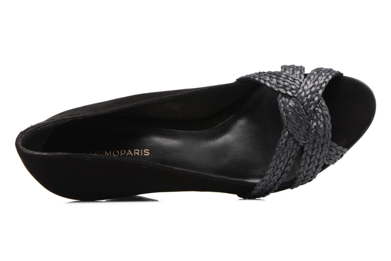 Zapatos de tacón COSMOPARIS Avimi Negro vista lateral izquierda