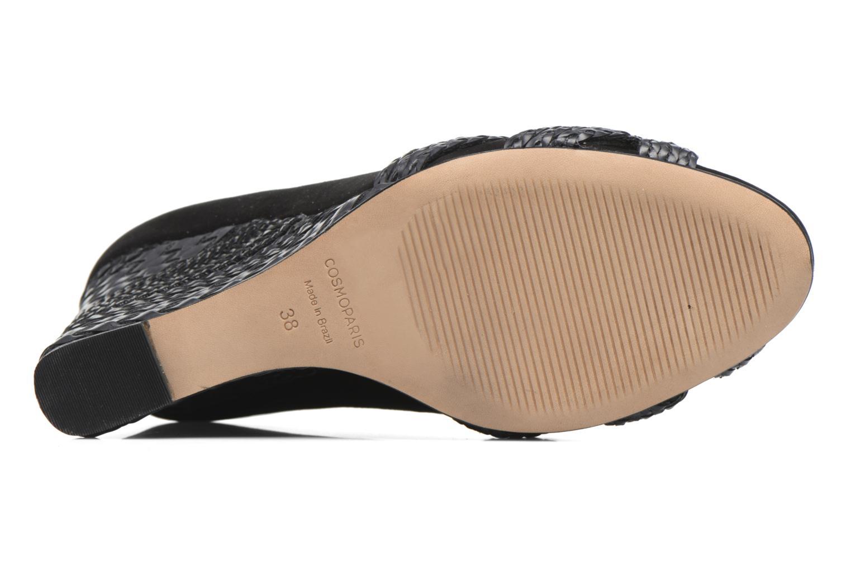 Zapatos de tacón COSMOPARIS Avimi Negro vista de arriba