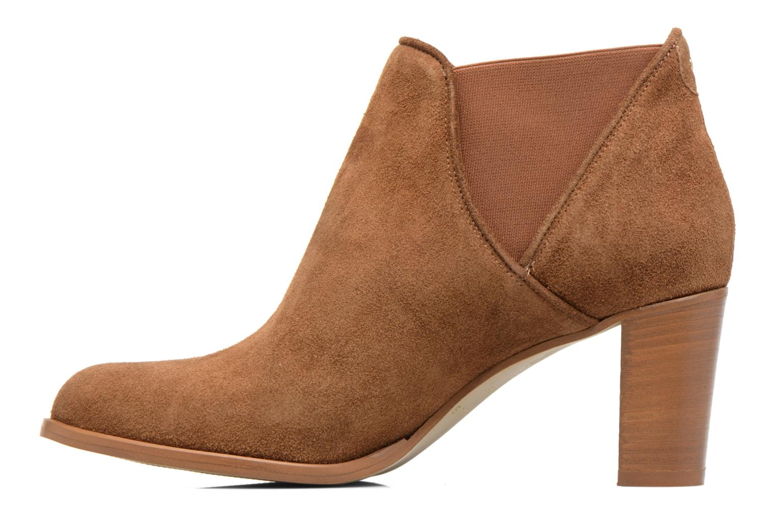 Ankle boots COSMOPARIS Bamia/Vel Brown front view