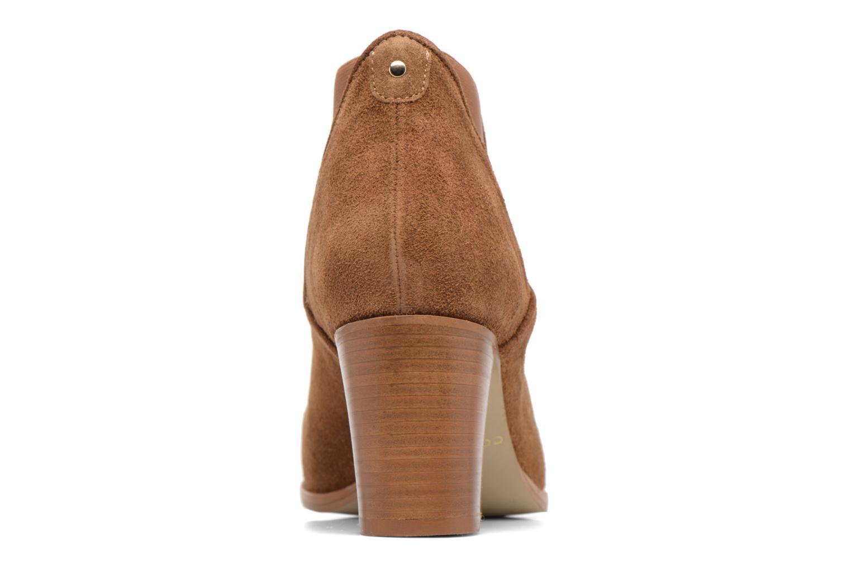 Bottines et boots COSMOPARIS Bamia/Vel Marron vue droite