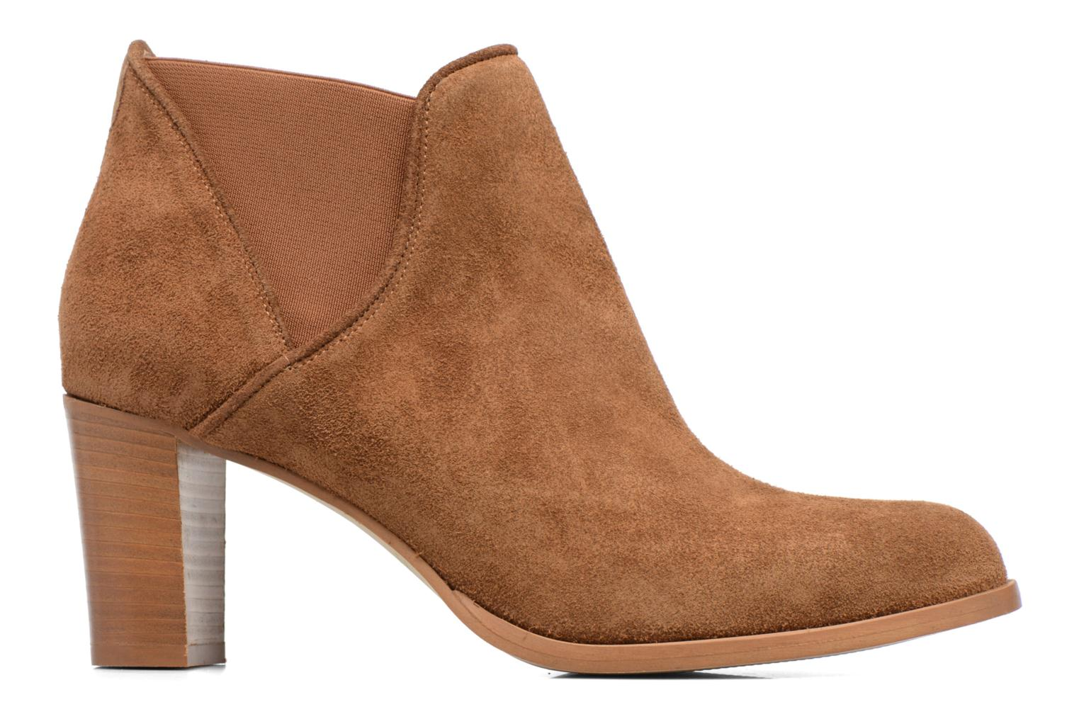 Ankle boots COSMOPARIS Bamia/Vel Brown back view