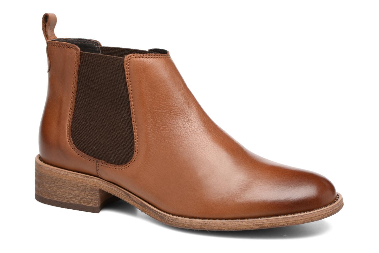 Bottines et boots COSMOPARIS Flea Marron vue détail/paire