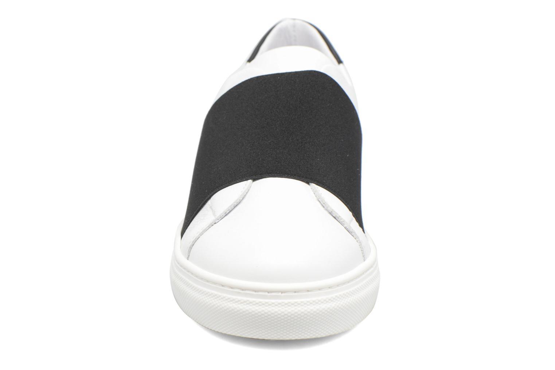 Baskets COSMOPARIS Izoa Blanc vue portées chaussures