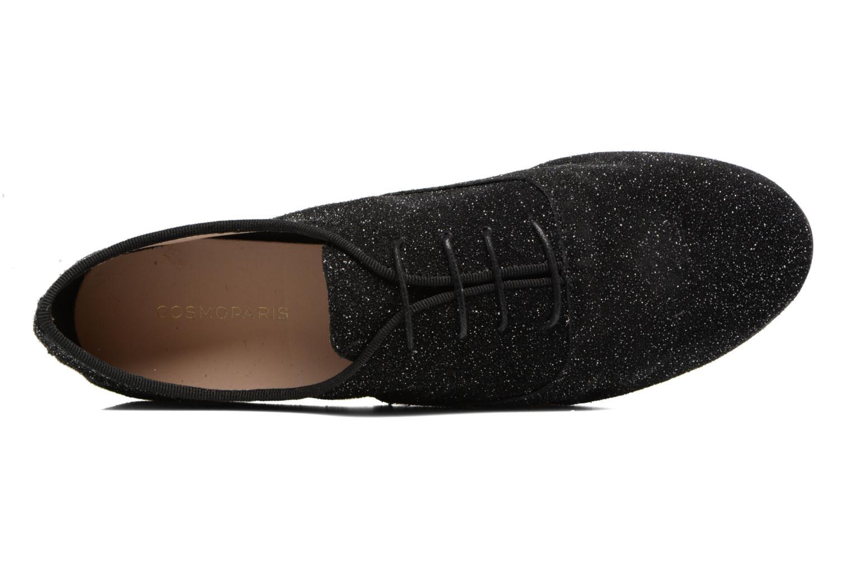 Lace-up shoes COSMOPARIS Blea/Glit Black view from the left