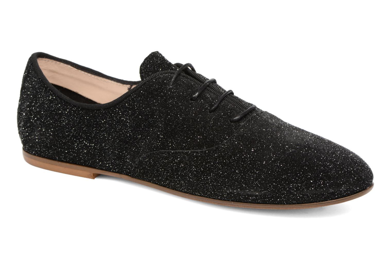Lace-up shoes COSMOPARIS Blea/Glit Black detailed view/ Pair view