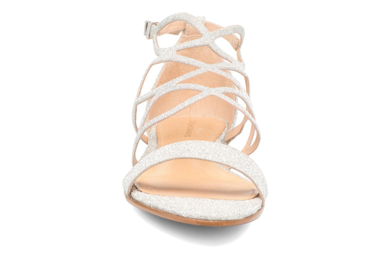 Sandales et nu-pieds COSMOPARIS Alinoa/Diam Argent vue portées chaussures