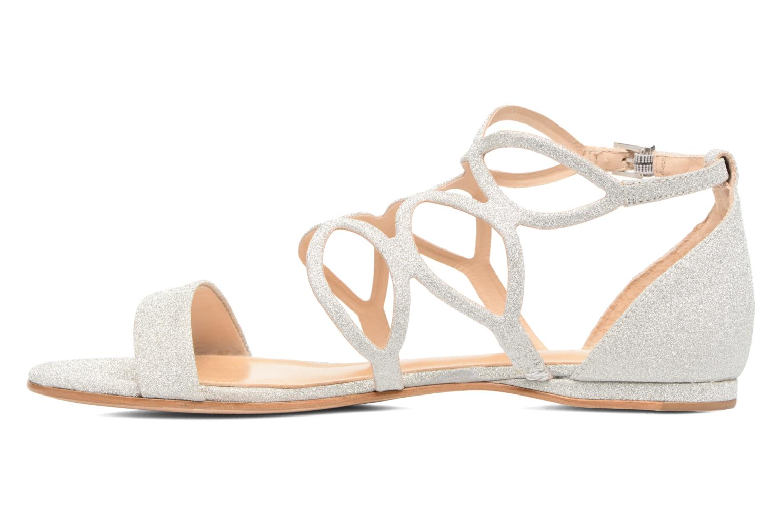 Sandals COSMOPARIS Alinoa/Diam Silver front view