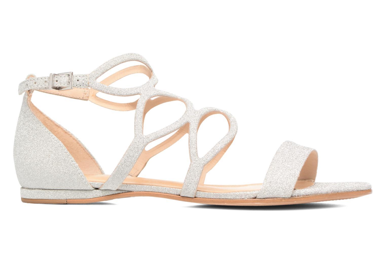 Sandales et nu-pieds COSMOPARIS Alinoa/Diam Argent vue derrière
