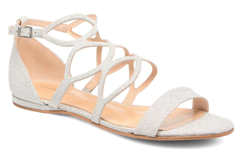 Sandals COSMOPARIS Alinoa/Diam Silver detailed view/ Pair view