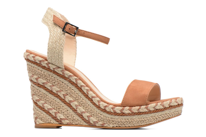 Sandalen COSMOPARIS Agaya braun ansicht von hinten