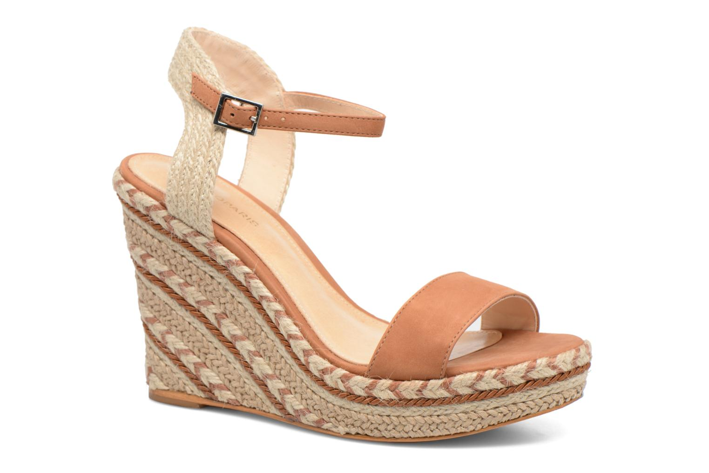 Marques Chaussure femme COSMOPARIS femme Agaya Cognac