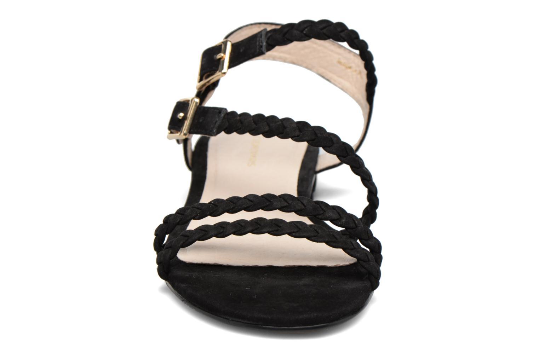 Sandales et nu-pieds COSMOPARIS Lessi Noir vue portées chaussures