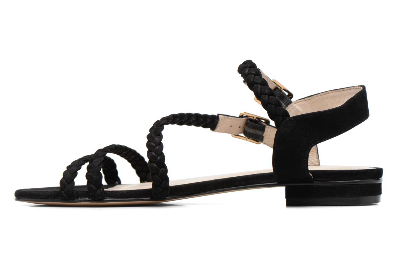 Sandales et nu-pieds COSMOPARIS Lessi Noir vue face