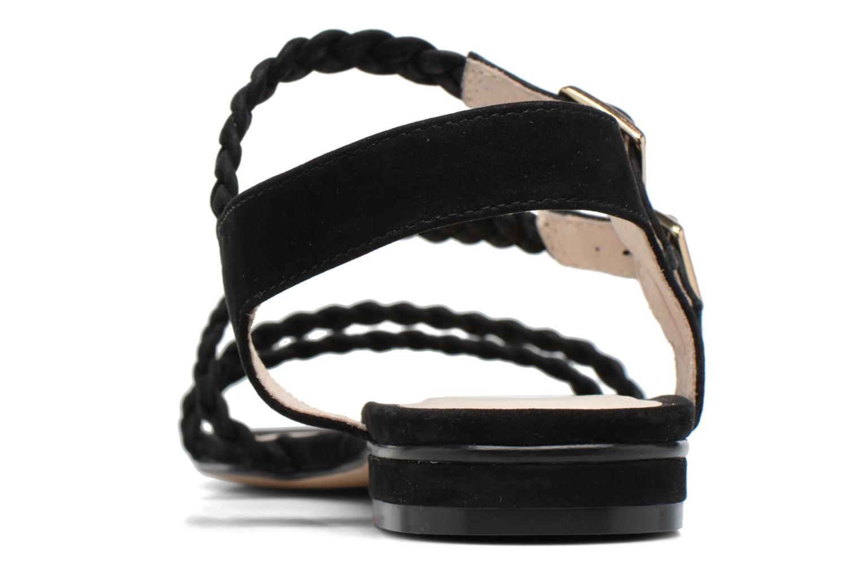 Sandales et nu-pieds COSMOPARIS Lessi Noir vue droite