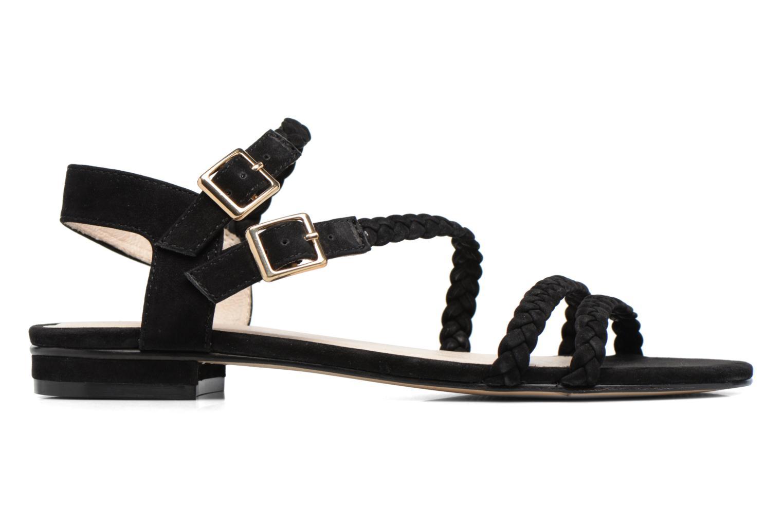Sandales et nu-pieds COSMOPARIS Lessi Noir vue derrière