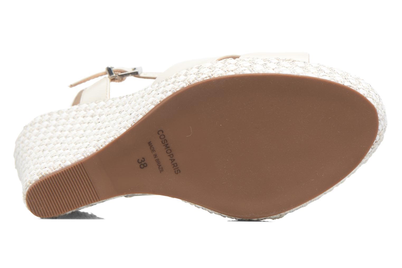 Sandalen COSMOPARIS Jadi/Mar beige ansicht von oben