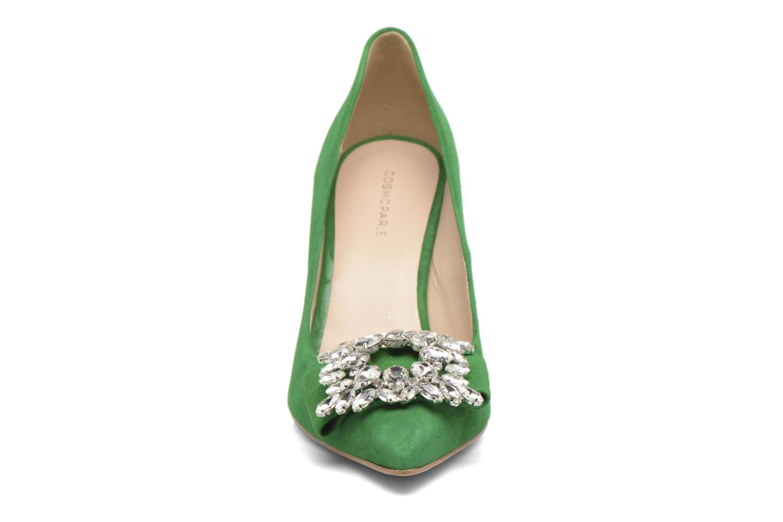 Escarpins COSMOPARIS Manifika/Vel Vert vue portées chaussures