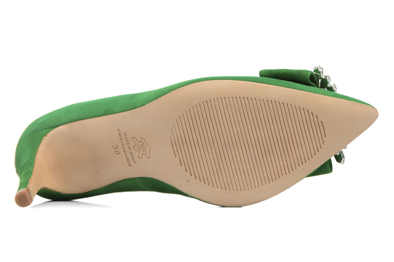Escarpins COSMOPARIS Manifika/Vel Vert vue haut