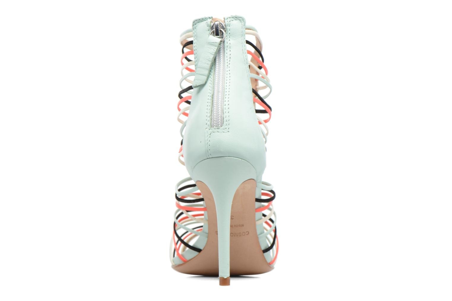 Sandals COSMOPARIS Ameya White view from the right