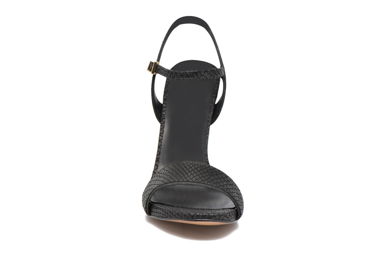 Sandales et nu-pieds COSMOPARIS Jadia/Pyt Noir vue portées chaussures